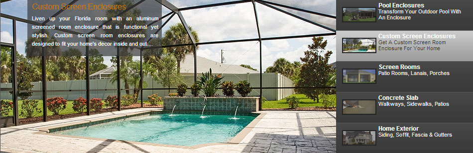 Pool Enclosures Screen Room Installation Repair Tampa