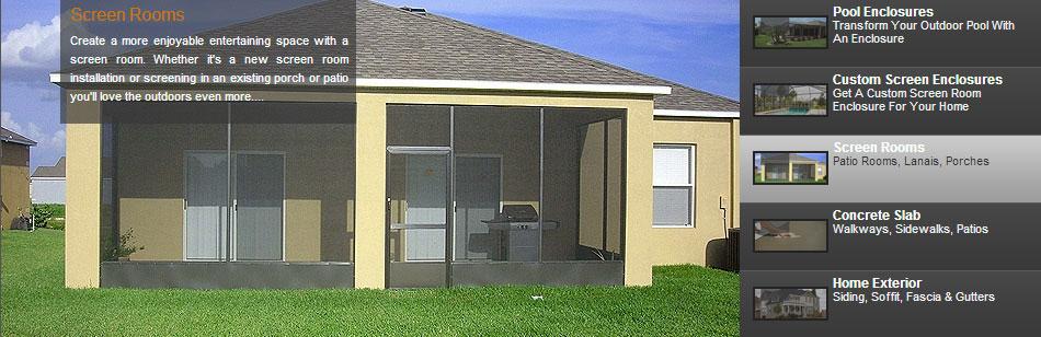 Pool Enclosures, Screen Room Installation, Repair   Tampa ...