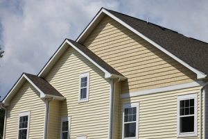 42053937 - residential house with cream siding